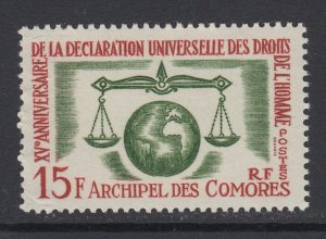 Comoro Islands, Scott 56 (Yvert 28), MNH