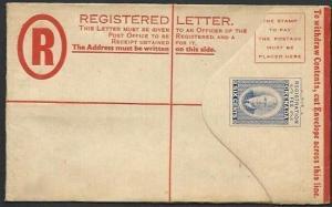 GRENADA GVI 12c registered envelope fine unused............................61054