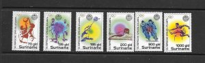 SURINAME #1049-52  ATLANTA OLYMPICS  HINGED