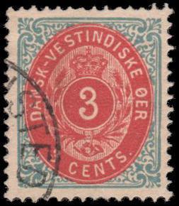 Danish West Indies 6 used