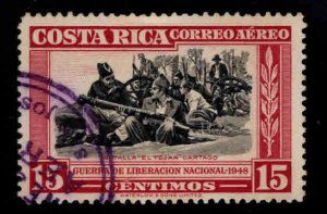 Costa Rica Scott C189 Used Airmail stamp