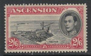 Ascension, Scott 47a (SG 45), MLH (slightly brownish)