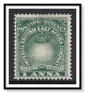 British East Africa #15 Sun & Crown MHHR