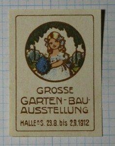 Garden Building Fair Exposition Poster Stamp Ads