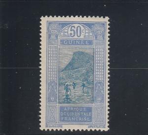 French Guinea  Scott#  87  MH  (1922 Ford at Kitim)