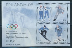Finland - Lillehammer Olympic Games MNH Sports Sheet (1994)