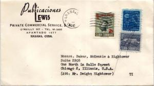 Cuba 1c Rose and Watering Can and 1c Proposed Communications Building Postal ...