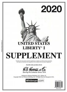 H E Harris Liberty 1 2020 Stamp Album Supplement ( HE HARRIS LIBERTY I 2020 )