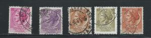 Italy (my #180) Used 10 Cent lot. No per item S/H fees