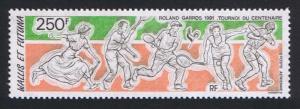 Wallis and Futuna Tennis Roland Garros SG#580 SC#C167