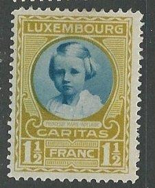 Luxembourg ---  Scott # B34 - MH