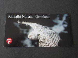 Greenland 1999 Sc 347a BLK Bird set MNH