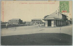 81177 - MADAGASCAR - POSTAL HISTORY - POSTCARD postmarked LA REUNION paquebot