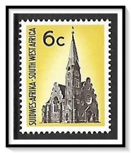 South West Africa #324 Christchurch MNH
