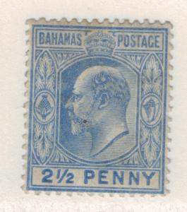 Bahamas Stamp Scott #38, Mint Hinged - Free U.S. Shipping, Free Worldwide Shi...