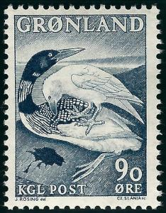 Greenland (Scott #45) VF MNH...Nice!