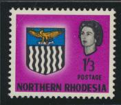 Northern Rhodesia  SG 83 SC# 83 MH - see details