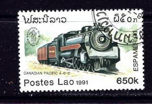 Laos 1041 Used 1991 Locomotive