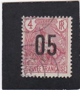 French  Guinea  #   56   used