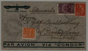 Brazil Zeppelin cover 14.6.33