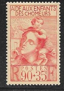 France #B84 90c+35c red (MLH)  CV$3.75
