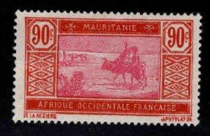 Mauritania Scott 45 MH* stamp