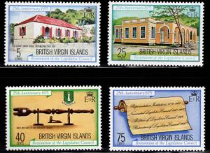 British Virgin Islands  Scott 301-304 MNH** set