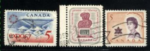 Can #469-71   -2    u   VF 1967 PD