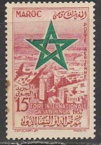 Maroc    C1   (N*)    1957     Poste aérienne