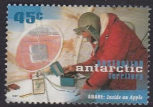 AAT 1997 - 50th Anniv Antartic Research - 45c used