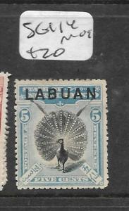 LABUAN (PP0204B)  5C  BIRD  SG 114  MOG