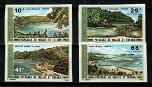 Wallis and Futuna Islands Scott C65-8 Mint NH imperf (Catalog Value 40 Euros)