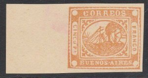 ARGENTINA  An old forgery of a classic stamp ...............................D744