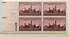 SCOTT # 943 PLATE BLOCK MINT NEVER HINGED GREAT LOOKING GEM  !!