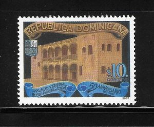 Dominican Republic 2007 Palace of Columbus Sc 1439 MNH A2038