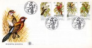 Bophuthatswana - 1980 Birds FDC SG 60-63