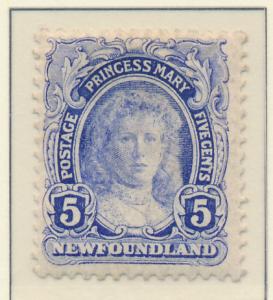 Newfoundland (Canada) Stamp Scott #108, Mint Hinged - Free U.S. Shipping, Fre...