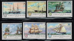 UK STAMP Turks And Caicos Islands MNH STAMPS COLLECTION LOT