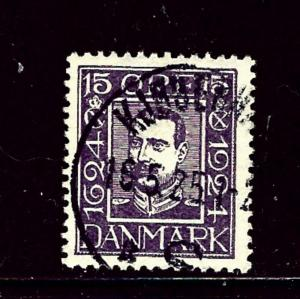 Denmark 171 Used 1924 issue