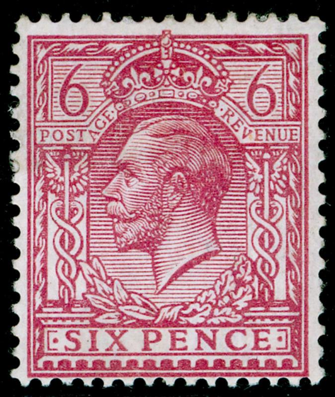 SG385 SPEC N26(4), 6d pale reddish purple, M MINT. Cat £20.