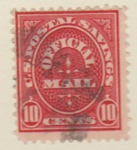 U.S. Scott #O126 Official Stamp - Used Single