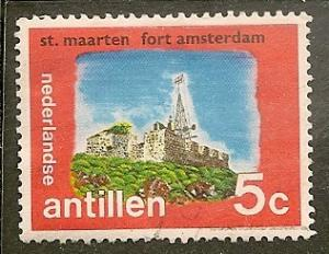 Netherlands Antilles  Scott    335  Fort   Used