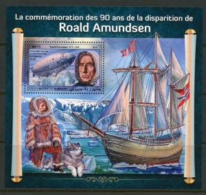 DJIBOUTI 2018 COMMEMORATION OF THE 90th MEMORIAL OF ROALD AMUNDSEN  S/S MINT NH