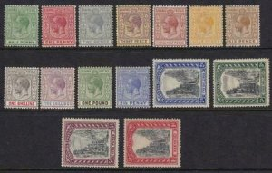 Bahamas 1921-1934 SC 70-84 Mint SCV $398.20 Set