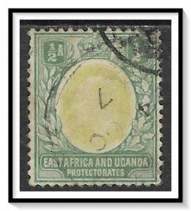 East Africa & Uganda Protectorates #17 King Edward VII Used