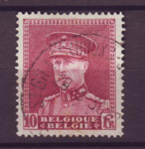 J21299 Jlstamps 1931-2 belgium hv of set used #236, king