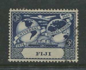 Fiji - Scott 142 - UPU Issue -1949 - FU- Single 3d Stamp
