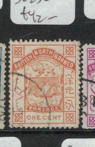 North Borneo SG 23 VFU (8dvp)