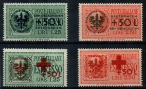 Yugoslavia Scott NB5-8 Mint hinged [TG216]
