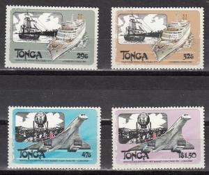 Tonga Scott 532-535 Mint NH (Catalog Value $20.50)